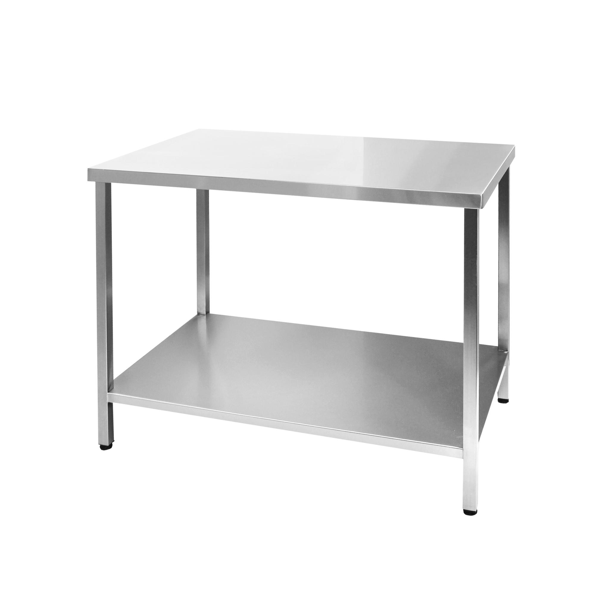Стол производственный из нержавеющей стали AISI 304